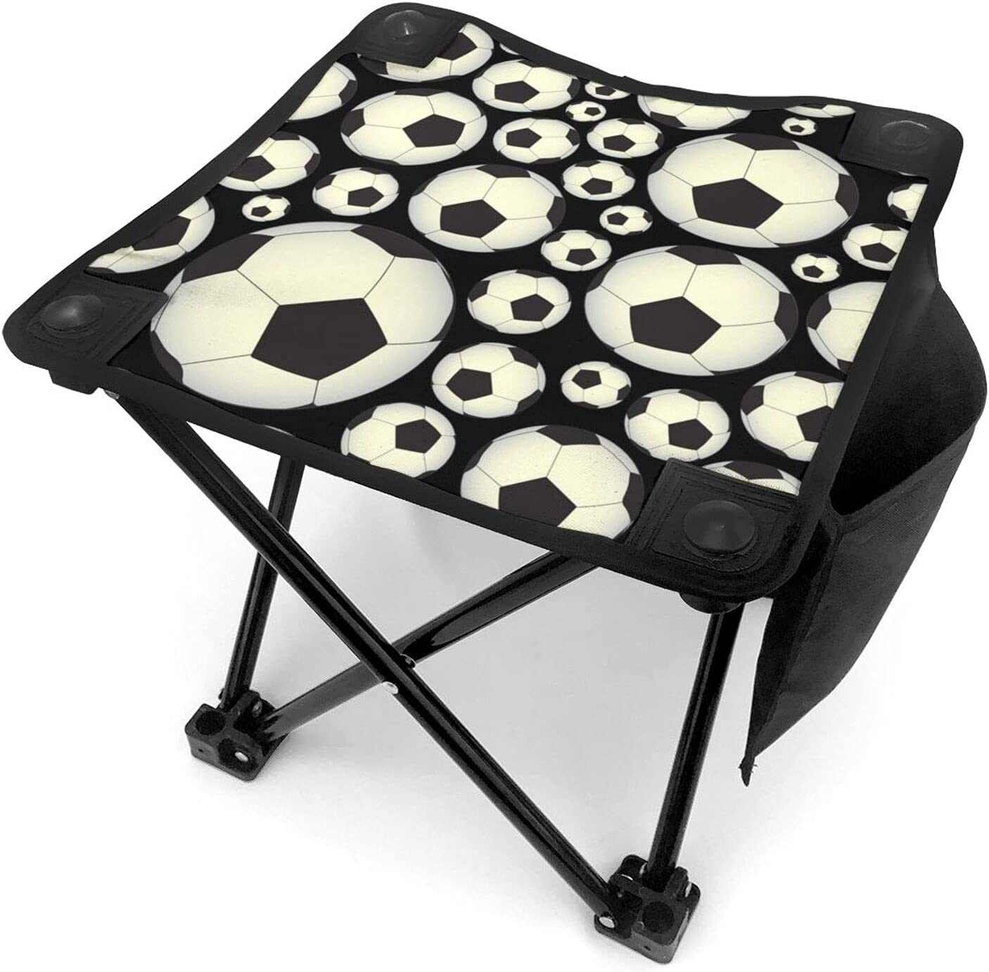 Soccer and Football High material Pattern Portable Stool Folding Chair Camping Special price