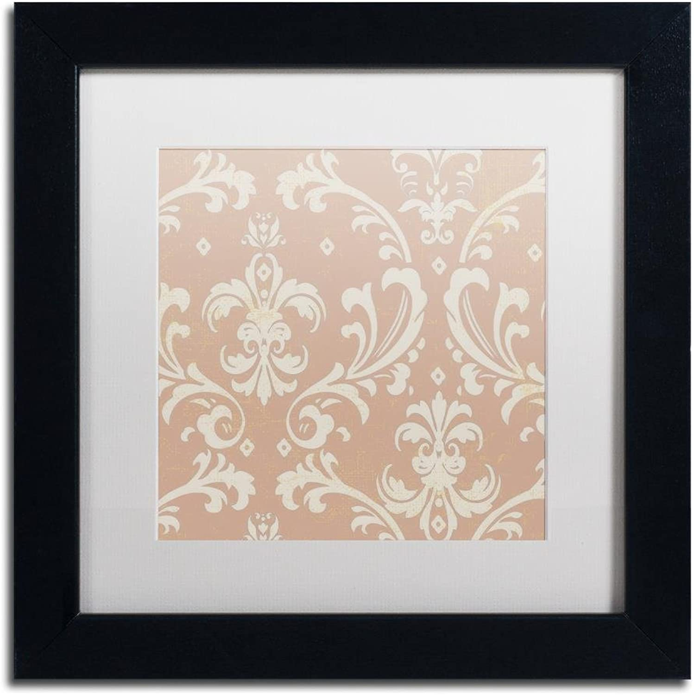 Trademark Fine Art ALI4536B1111MF Hyacinth IV by color Bakery, White Matte, Black Frame 11x11