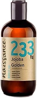 Naissance Jojobaöl Gold Nr. 233 250ml 100% reines, kaltgepresstes Öl