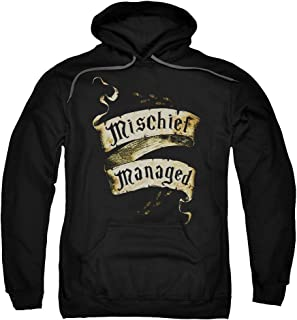 Harry Potter Mischief Managed Unisex Adult Pull-Over Hoodie for Men and Women