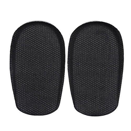 Demi-longueur Talon Lift Insert Chaussures Pad Talon Cup Silicone Gel Hauteur Augmentation Semelles Semelles Absorption des Chocs Talon Coussin Pads(M