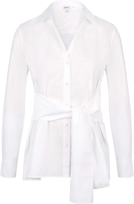 Charli Women's Sabine Tie Front Shirt White