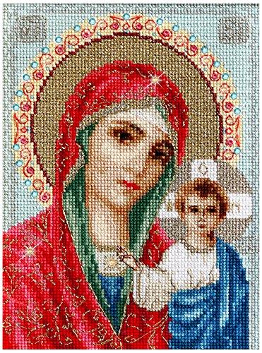 Luca-S Icon Madre de Dios de kazán Kit de Punto de Cruz