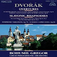 DVORAK: OVERTURES/SLAVIC RHAPSODY(2CD) by BOHUMIL GREGOR (2009-12-23)