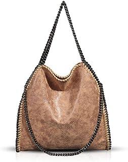 Umhängetaschen für Frauen Damen Kette Umhängetasche Kettentasche Taschen für Damen Casual Handtasche große Hobo Schulterta...
