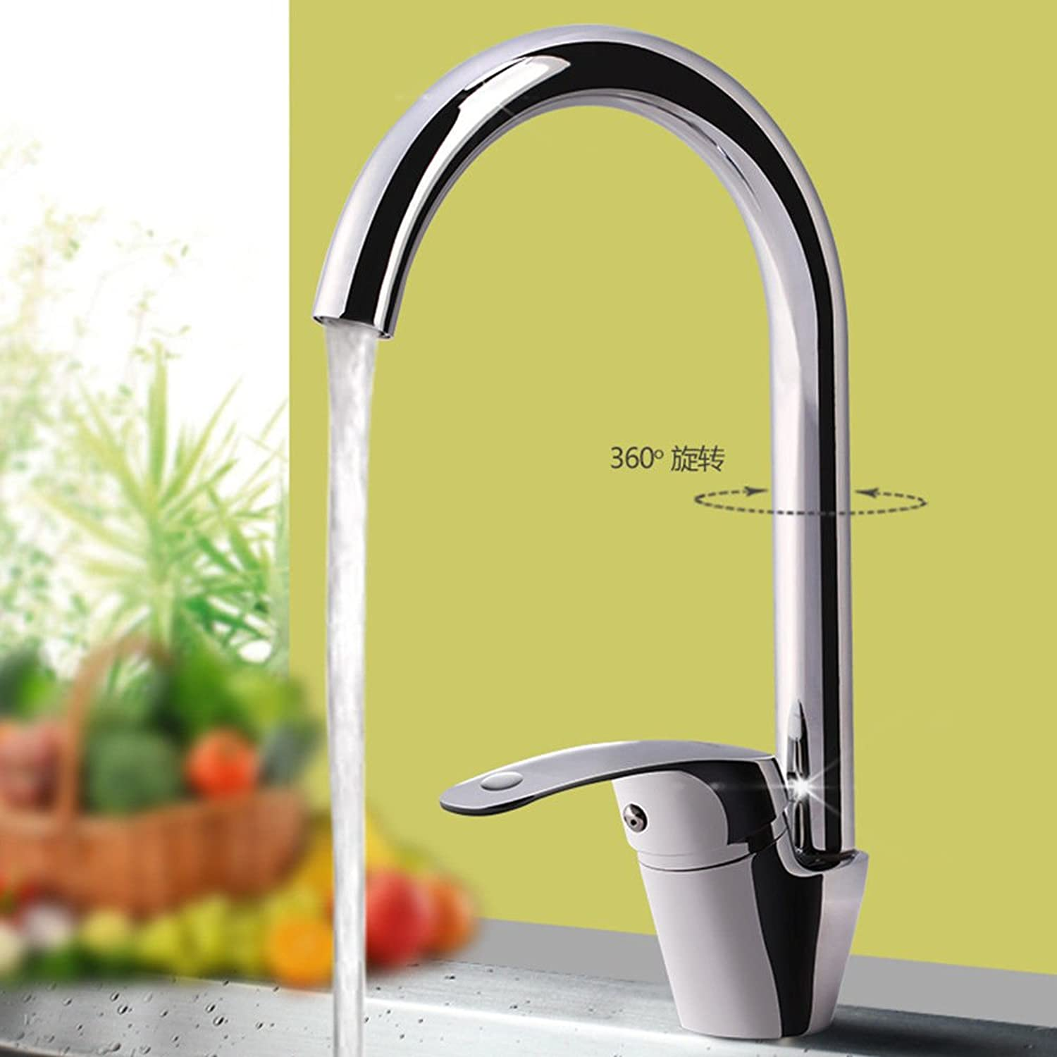 Gyps Faucet Single-Lever Washbasin Mixer Tap Tap Tap Kitchen Household Water Connection Sink Tap Bowl Cold Water Sink Tap Brass Tap B Z