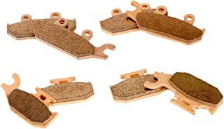 Race Driven Front & Rear Mudrat Brake Pads for Can-Am Maverick Commander 800 800R 1000 1000R XT XRS MAX DPS XDS Turbo
