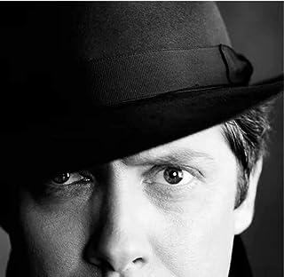 ジェームズスペイダー映画俳優アーティスト白黒HDポスターキャンバス絵画壁アートハウス装飾プリントキャンバス(50X75Cm)-20x30インチフレームなし