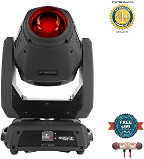 CHAUVET DJ Intimidator Hybrid 140SR Moving Head Beam includes Free Wireless Earbuds - Stereo Bluetooth In-ear and 1 Year Everything Music Extended Warranty