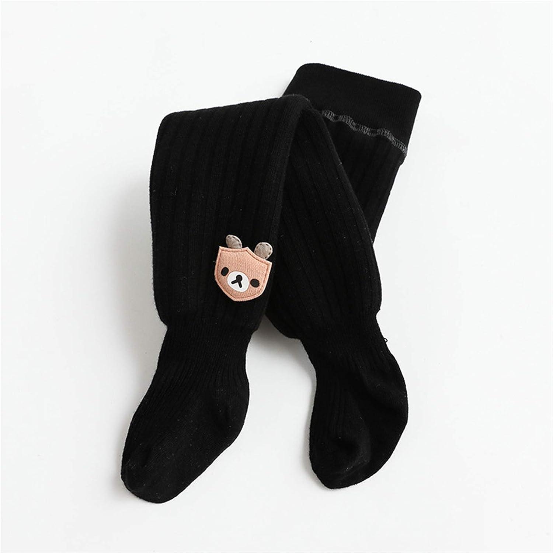 ZHANGYAN Pantyhose Girls Winter Leggings Dance Socks Uniform Pantyhose 4-8 Years Old (Color : Black, Size : 4-6Year)