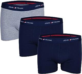 John Frank Men's -Grey Boxers 3 Pack