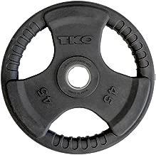 TKO Olympic 45 lb. Urethane Tri-Grip Plate