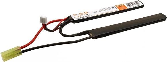 GSG Airsoft LiPo Akku 7,4V 1450mAh - Double Stick - (je 11,5 x 1,6 x 0,8cm) mit Mini TAM-Anschluss