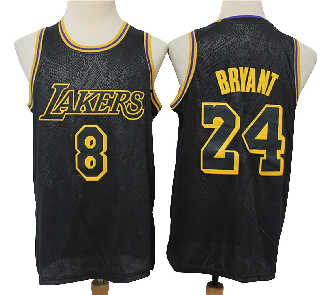 Buy Men's Basketball Jersey, Kobe #8 24 Black Mamba Memorial ...
