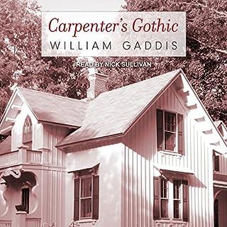 Carpenter's Gothic audiobook cover art