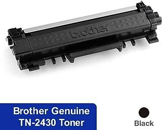 Black Printer Toner Cartridge TN-2430 Black Toner for Brother HL-L2350DW, HL-L2375DW, HL-L2395DW, MFC-L2710DW, MFC-L2713DW, MFC-L2730DW, MFC-L2750DW, Black, (TN-2430)