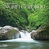 North Carolina Wild & Scenic 2022 7 x 7 Inch Monthly Mini Wall Calendar, USA United States of America Southeast State Nature