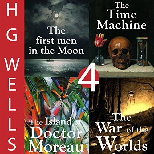 H. G. Wells Sci-Fi Omnibus: Four Great Novels audiobook cover art