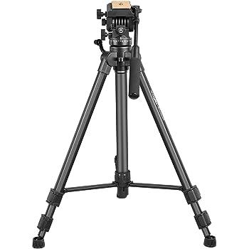 Digitek DPTR-880 Pro Lightweight Tripod (Maximum Load 15kgs), 5.45 Feet Tall Digital SLR & Video Cameras, Made Aluminium Material (DPTR 880 PRO)