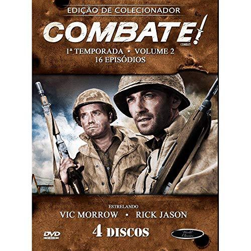 Combate 1ª Temporada Volume 2 Digibook 4 Discos