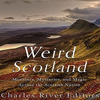 Weird Scotland audiobook cover art
