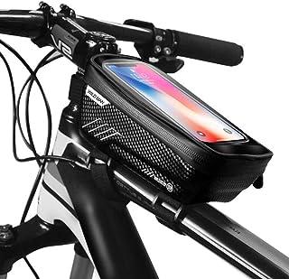 Innoo Tech Bicycle Frame Bag, Bike Frame Bag Waterproof Bike Pouch Bag Bike Handlebar Bag Cycling Front Top Tube Touchscre...