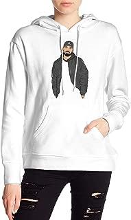 Drake Women's Long Sleeve Sweater Black Hoodie