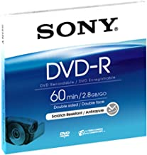 Sony 8cm Double-Sided DVD-R with Hangtab - Single (Discontinued by Manufacturer)