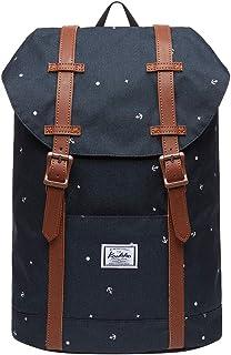 kaukko rucksack damen KAUKKO Studenten Rucksack Damen Herren Reiserucksack für Mädchen Jungen & Kinder fit 10 Notebook 12L