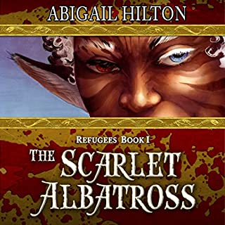 The Scarlet Albatross: A Story of Airships and Panamindorah audiobook cover art