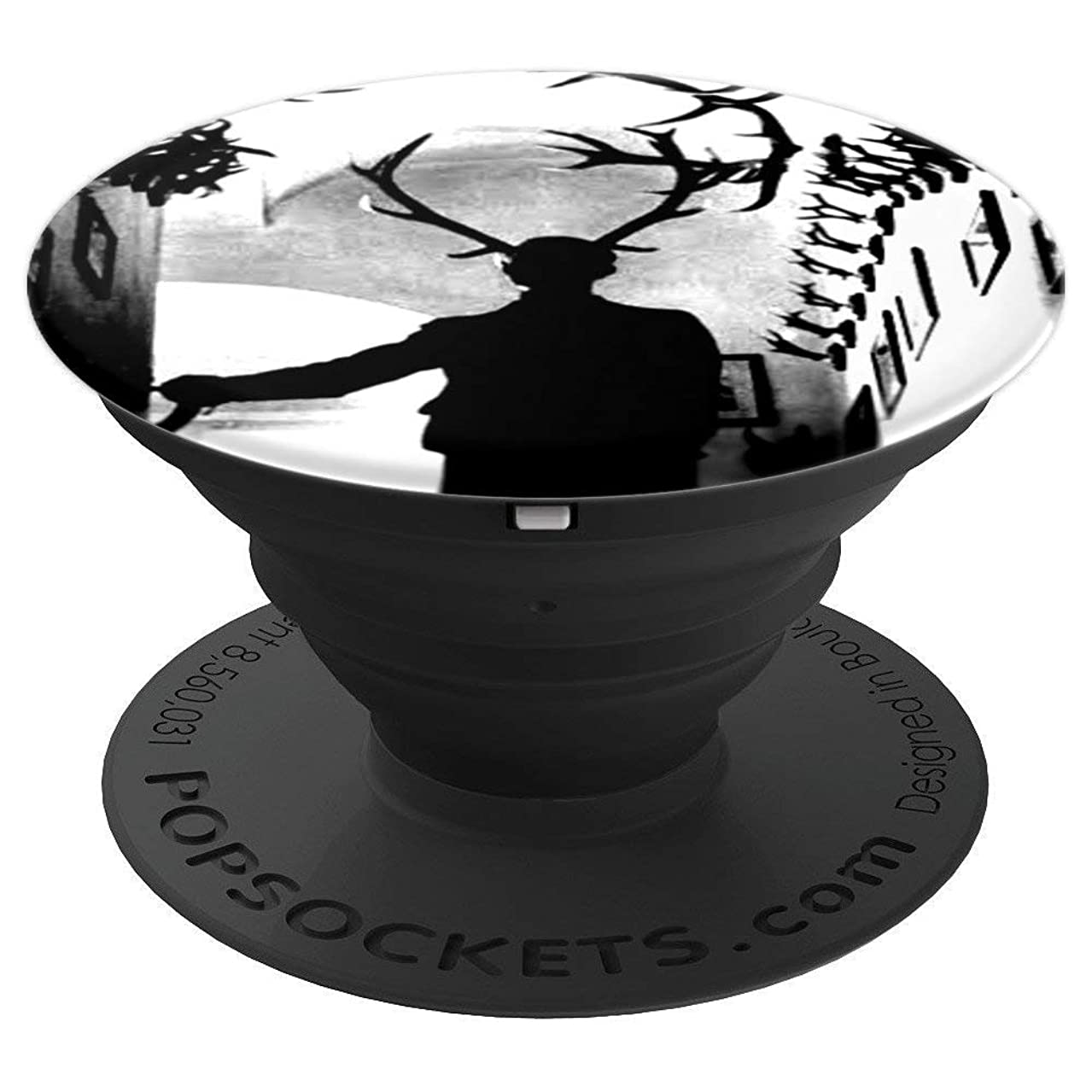 Wendigo Man - Hannibal Homage - PopSockets Grip and Stand for Phones and Tablets