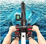 LeeBZ Indoor Rudergerät Fitness Cardio-Workout Wasserresistent Rudergerät Kleines Lärm - 2