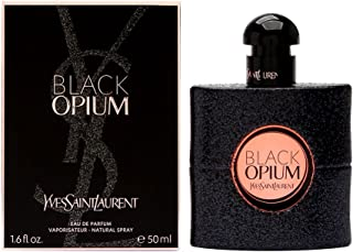 Yves Saint Laurent Eau De Parfum Spray for Women, Black Opium, 1.6 Ounce