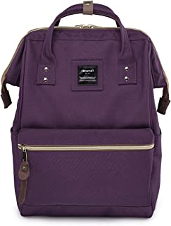Himawari Travel Backpack Laptop Backpack Large Diaper Bag Doctor Bag Backpack School Backpack for Women&Men (9001-Purple, Regular)