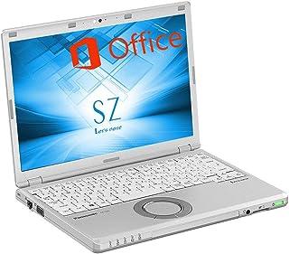 【豪華特典進呈】【Microsoft Office2019&Win10搭載】超軽量Panasonic Let's note CF-SZ6■第7世代 Core i3-7100U@2.4GHz/メモリ8GB/新品SSD 512GB/12.1インチ液...