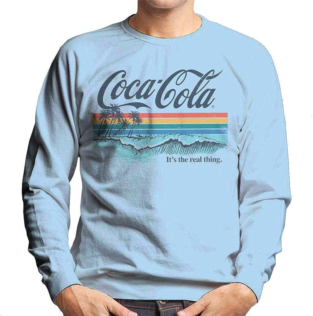 Coca-Cola mart List price Catch The Wave Sky Men's Sweatshirt Blue
