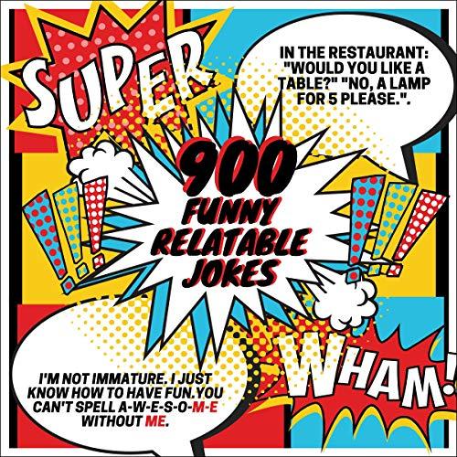 900 Funny Relateable Jokes: XL Edition Titelbild