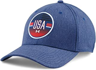 5e2d41a140a Under Armour Men s UA Country Pride LC Cap American Blue Red White Hat
