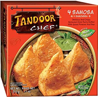 Tandoor Chef Samosa with Chutney, 11-Ounce Boxes (Pack of 6)