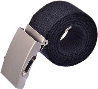 61a39b1d10e0ea Mybaender Stoffgürtel 110 cm -150 cm Längen freie Auswahl Canvas Belt Jeans  Gürtel Damen &