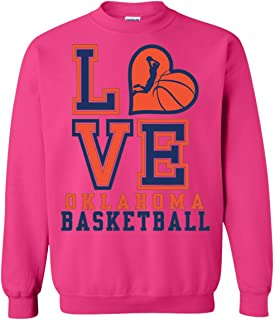Oklahoma City Basketball Sweatshirt, for Real Thunder Fans, Perfect Crewneck Pullover Game Day Gift, Unisex, Men, Women