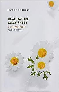 Nature Republic Real Nature Mask Sheet CHAMOMILE 10pc SET Daily Mask Korea