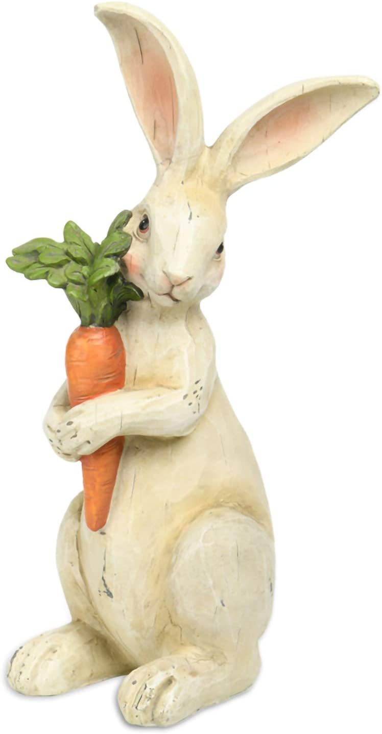 Standing Rabbit Figurines Home Decor - Easter Bunny Figurines Home Decoration 5.8