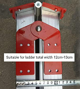 Aluminum Step Ladder Hinge Replacement Kit Herringbone Ladder Tie Rod Attic Ladder Attachment/Accessories(2Pcs) (Small)