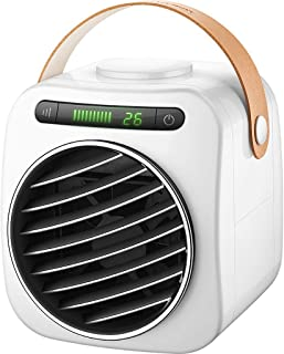 Mini USB Aire Acondicionado Ventilador Enfriador de Aire Mudo Ahorro de energía refrigerador pequeño Ventilador pequeño Dormitorio con Aire Acondicionado (Color : B)