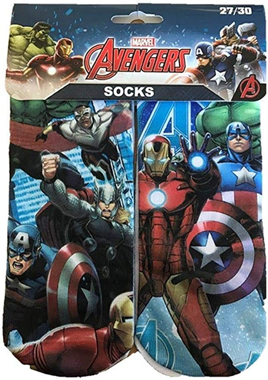 Boys Children's Avengers Socks Marvel Gift Stocking Filler