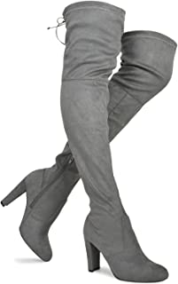 58edb6544f2 Premier Standard Women's Over The Knee Boot - Sexy Over The Knee Pullon Boot  - Trendy