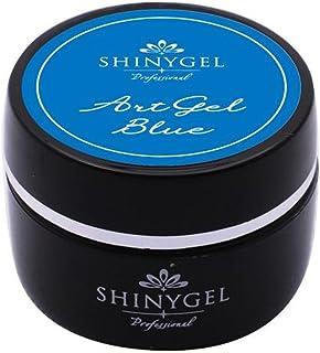 SHINY GEL カラージェル 4g アートジェルブルー
