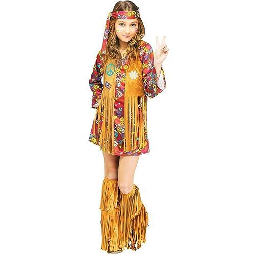 9d49c4369 Fun World Peace & Love Hippie Kids Costume