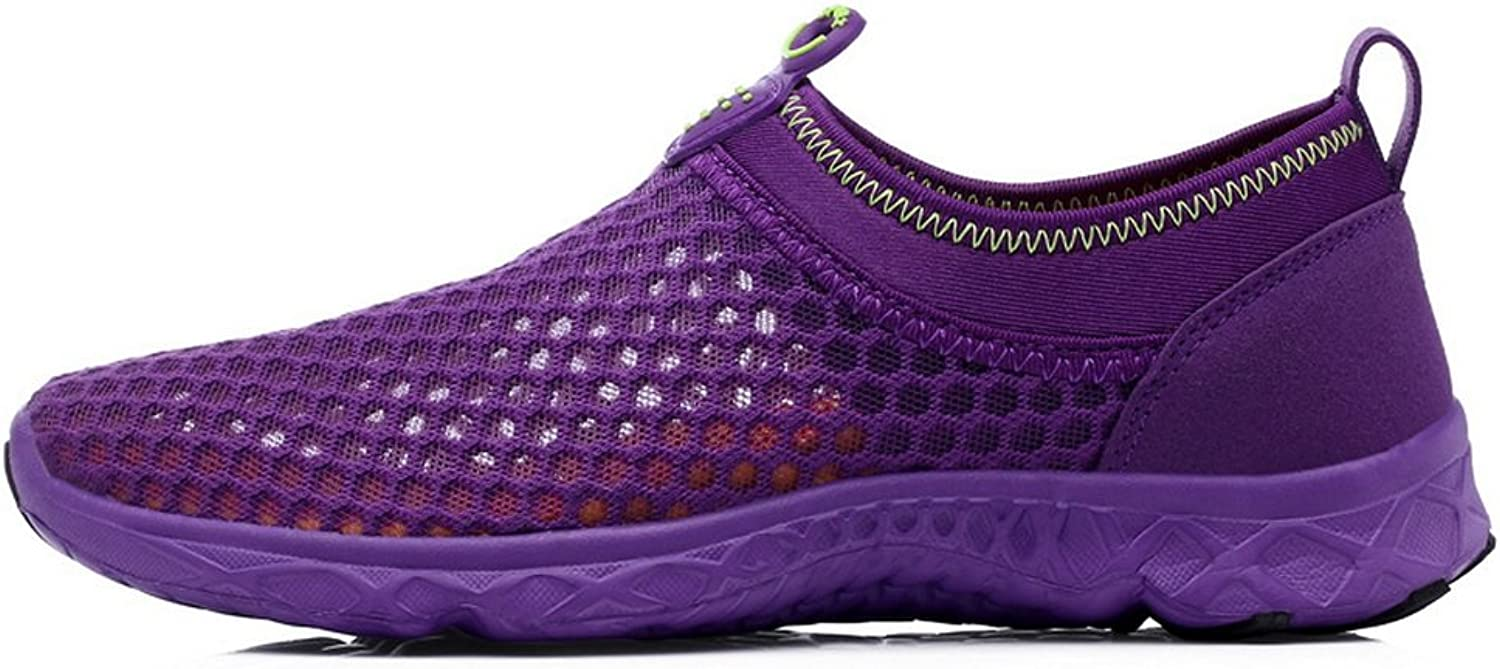 TOOSBUY Women's Quick Drying Aqua Mesh Slip On Water shoes